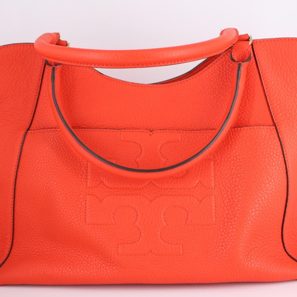 fd1bf8a6c9ea Tory Burch Bombe-T East West Tote Bag Poppy Red